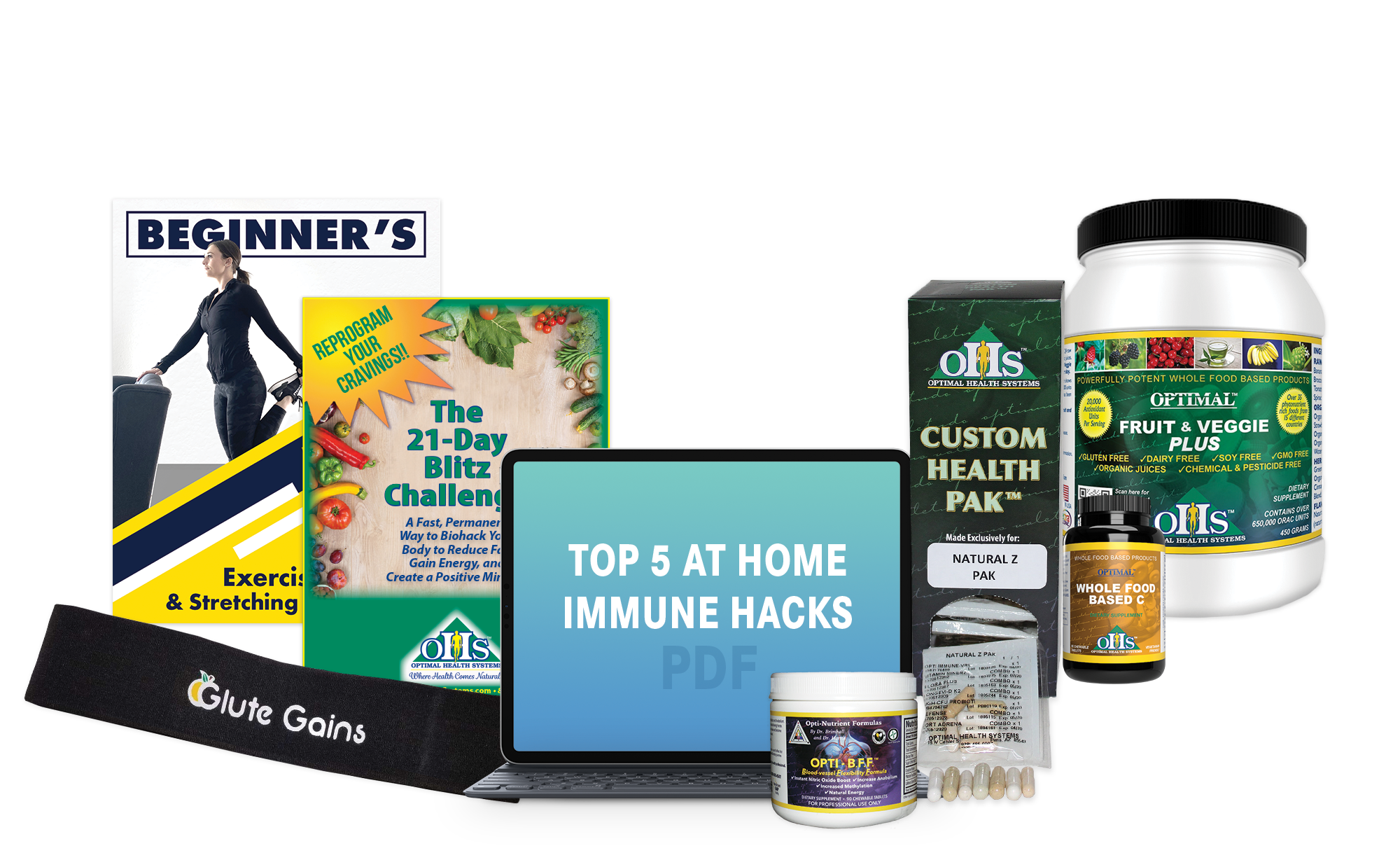 OHS Immune Support Bundle with NEW Whole C Tablets
